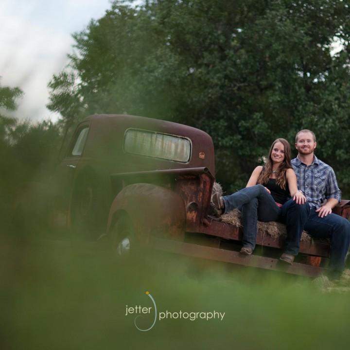 Vista West Ranch Engagement Portrait
