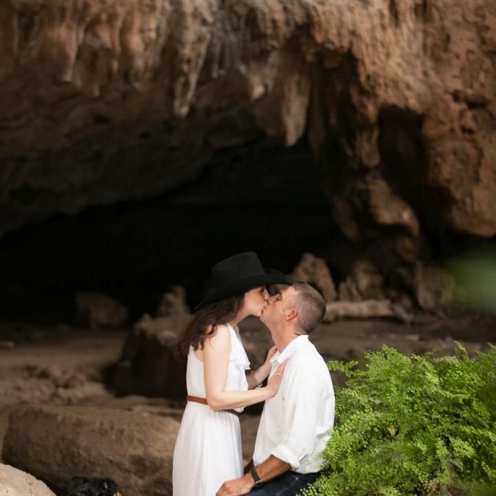 Reimers Ranch Park Engagement Portrait